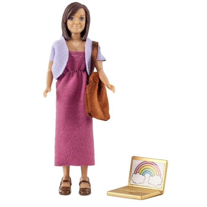 куклы и одежда для кукол Куклы и одежда для кукол Lundby Набор кукол для домика мама с аксессуарами