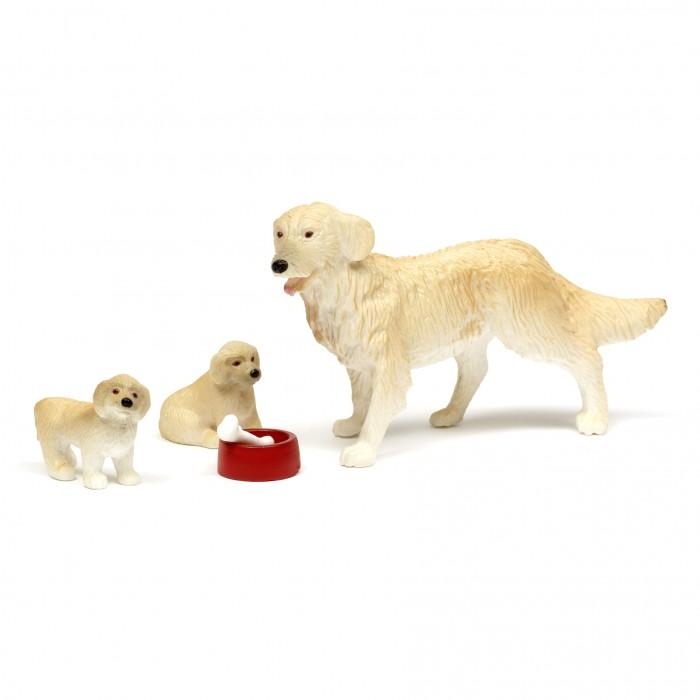Фото - Кукольные домики и мебель Lundby Набор животных Пес семьи со щенками аксессуары для домика lundby пес семьи со щенками