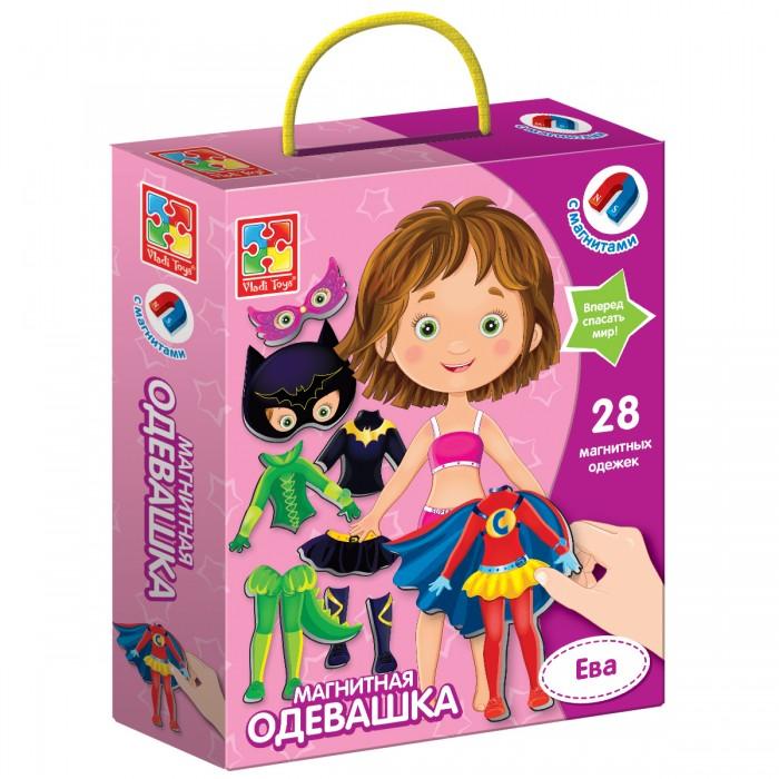 Игры для малышей Vladi toys Магнитная игра Одевашка Ева
