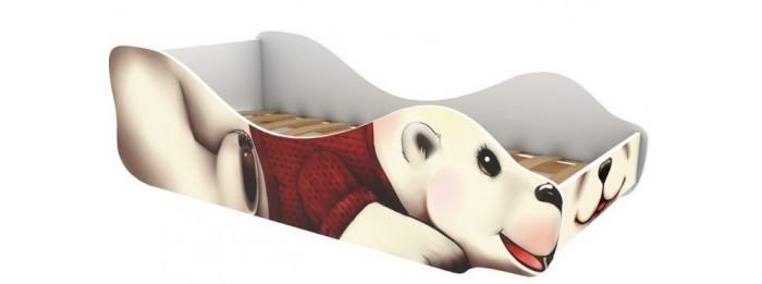 Картинка для Подростковая кровать Бельмарко Полярный мишка-Умка