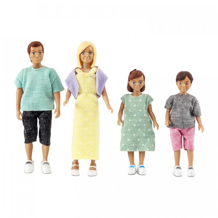 Картинка для Куклы и одежда для кукол Lundby Набор кукол для домика классическая семья