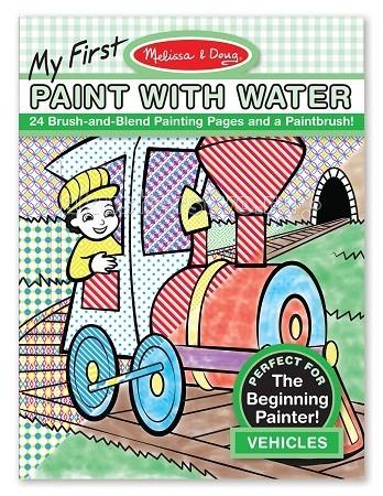Купить Раскраски, Раскраска Melissa & Doug Мои первые водные раскраски транспорт
