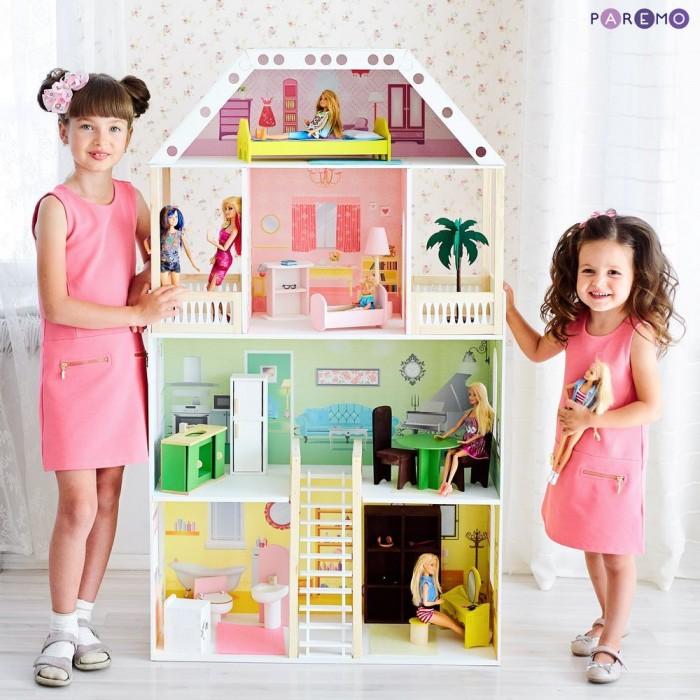 Купить Кукольные домики и мебель, Paremo Кукольный домик Поместье Шервуд (с мебелью)