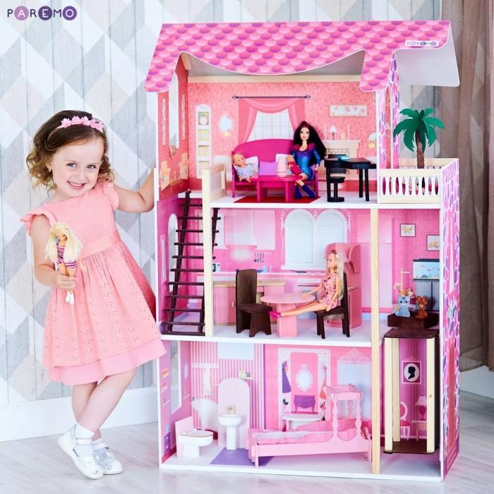 Купить Кукольные домики и мебель, Paremo Кукольный домик Монте-Роза (с мебелью)