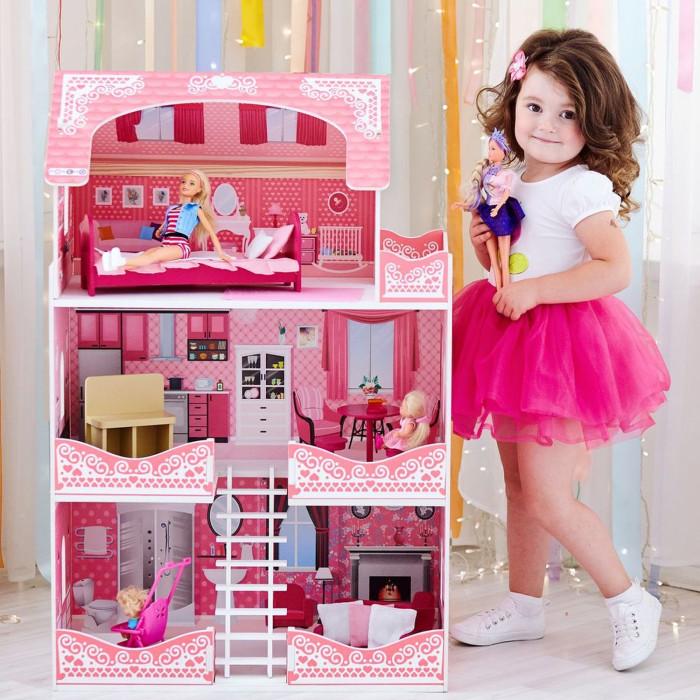 Купить Кукольные домики и мебель, Paremo Кукольный домик Розет Шери (с мебелью)