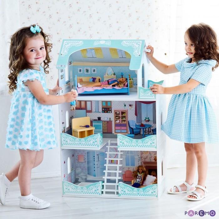 Купить Кукольные домики и мебель, Paremo Кукольный домик Вивьен Бэль (с мебелью)