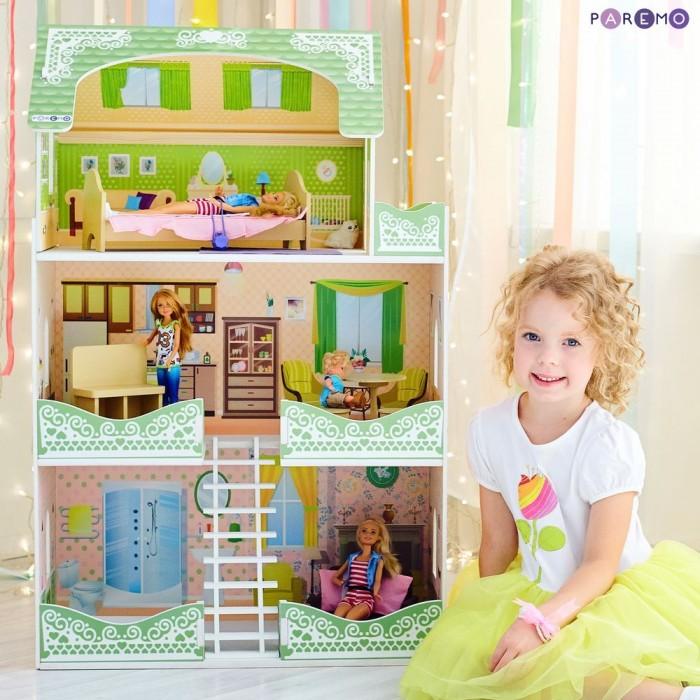 Купить Кукольные домики и мебель, Paremo Кукольный домик Луиза Виф (с мебелью)