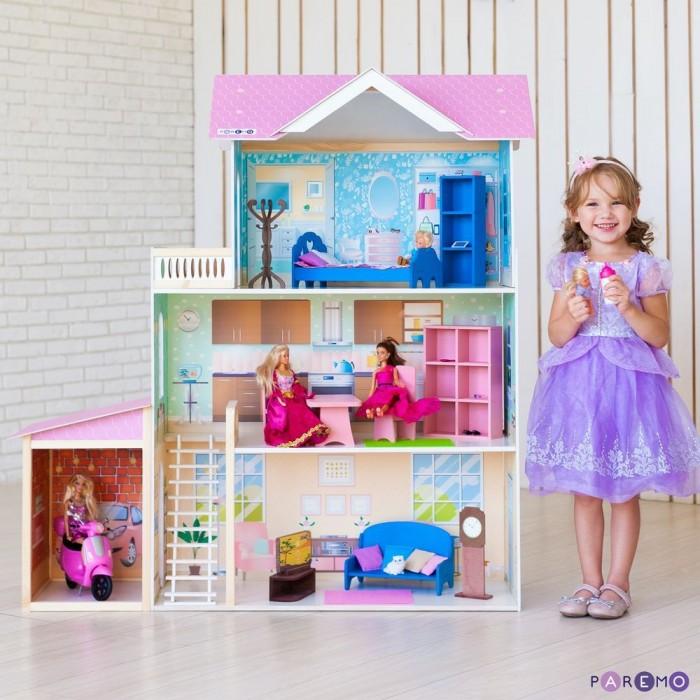 Купить Кукольные домики и мебель, Paremo Кукольный дом Розали Гранд (с мебелью)