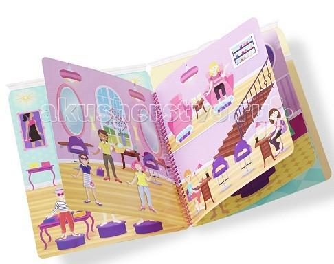 Детские наклейки Melissa & Doug Набор делюкс со стикерами-день гламура