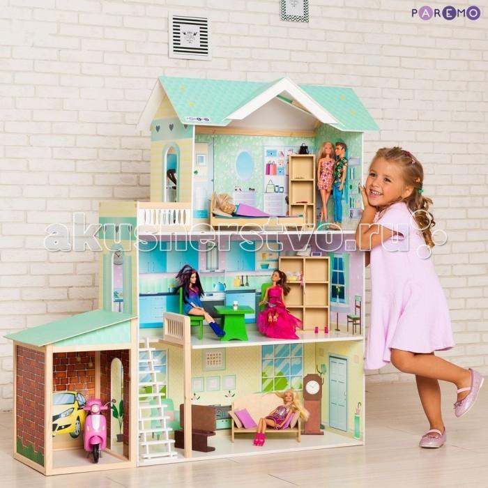 Купить Кукольные домики и мебель, Paremo Кукольный дом Жозефина Гранд (с мебелью)