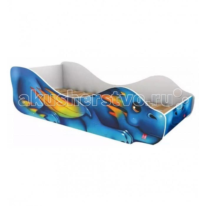 Подростковая кровать Бельмарко Дракоша-Огнедыш фото
