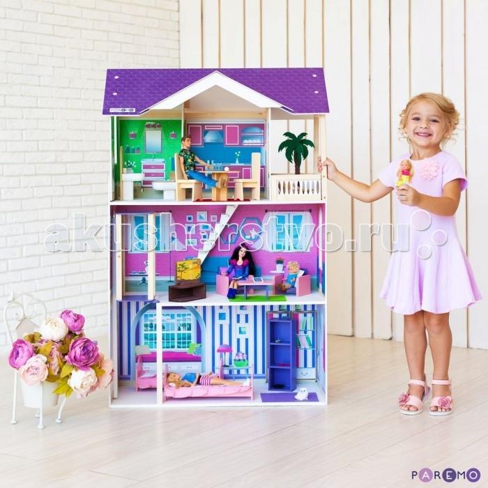 Купить Кукольные домики и мебель, Paremo Кукольный домик Флоренция (с мебелью)