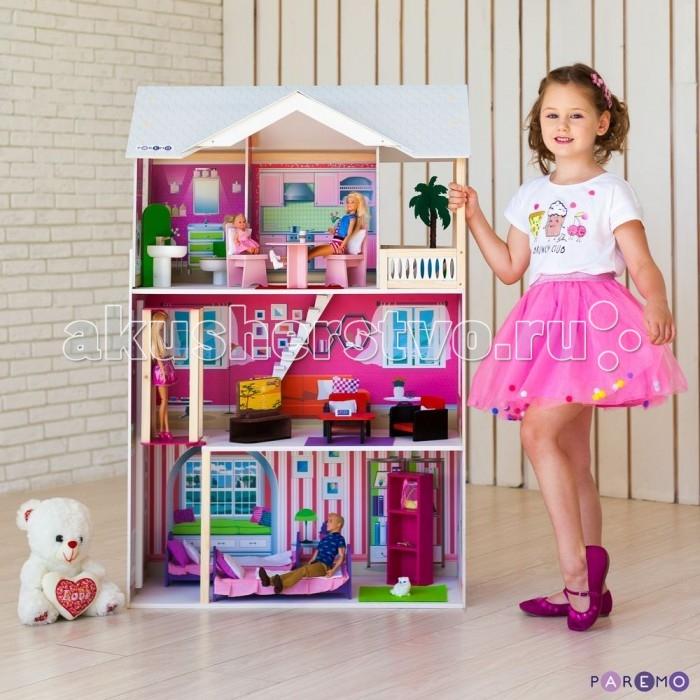 Купить Кукольные домики и мебель, Paremo Кукольный домик Сицилия (с мебелью)