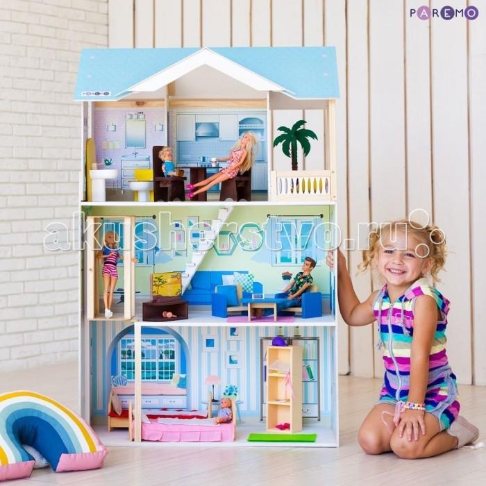 Купить Кукольные домики и мебель, Paremo Кукольный домик Лацио (с мебелью)