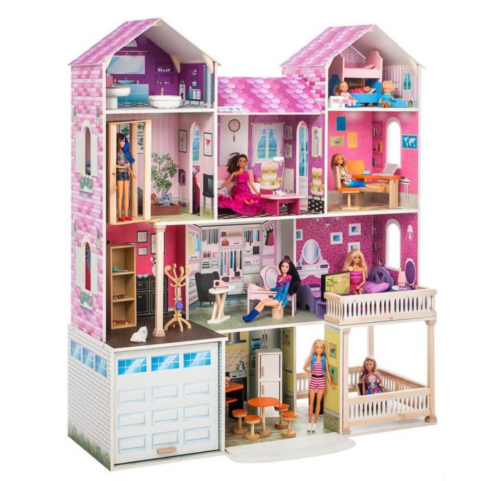 Купить Кукольные домики и мебель, Paremo Интерактивный дом Поместье Агостина (с мебелью, свет, звук)