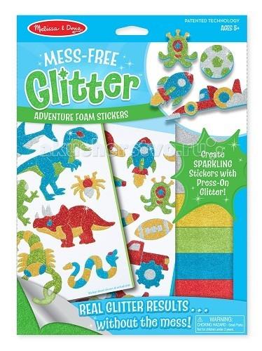 детские зонтики melissa Детские наклейки Melissa & Doug Набор стикеров Забавные существа