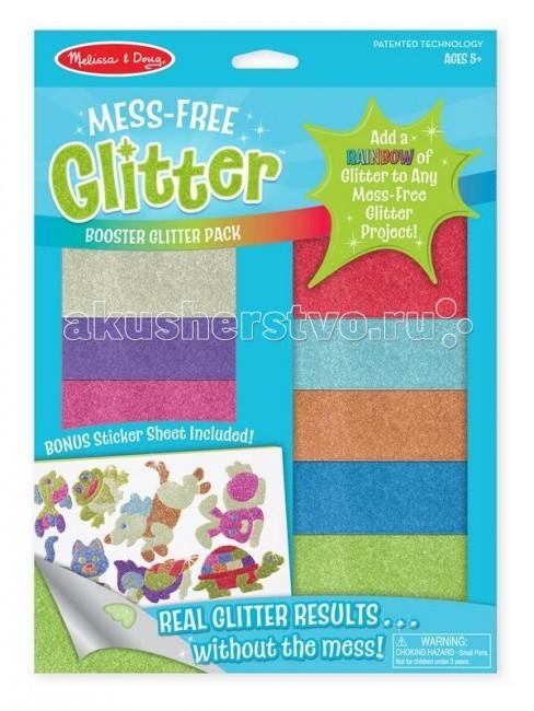 Аппликации для детей Melissa & Doug Набор с блестками
