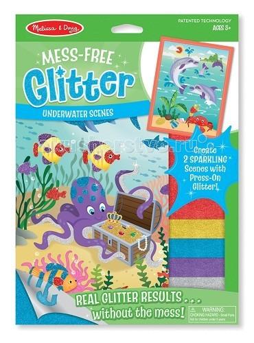 Аппликации для детей Melissa & Doug Набор Подводные сцены