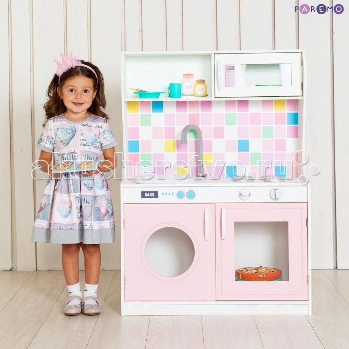 Paremo Игрушечная кухня Алвеоло Роуз Мини фото