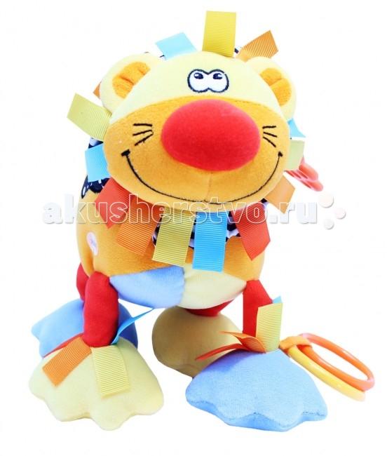 Фото - Подвесные игрушки ROXY-KIDS Львенок Бьонс со звуком roxy kids rbt20014 игрушка развивающая слоненок сквикер пищалка внутри размер 18 см