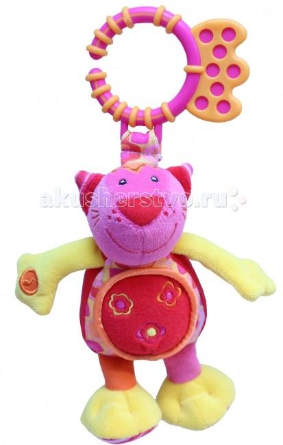 Подвесные игрушки ROXY Котенок Банси со звуком roxy kids roxy kids развивающая игрушка котенок минкси