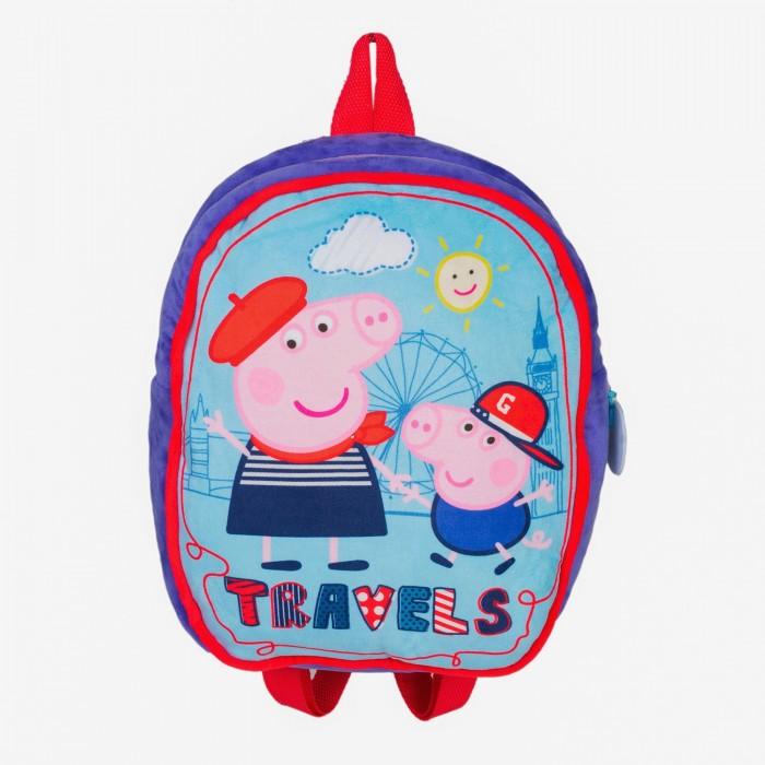 Сумки для детей Свинка Пеппа (Peppa Pig) Рюкзачок плюшевый детский