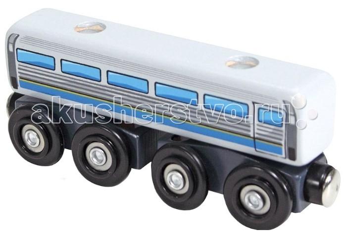Железные дороги Melissa & Doug Дизельный пассажирский вагон