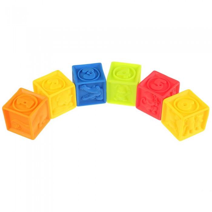 Купить Игрушки для ванны, Играем вместе Игрушки для купания Кубики 6 шт.