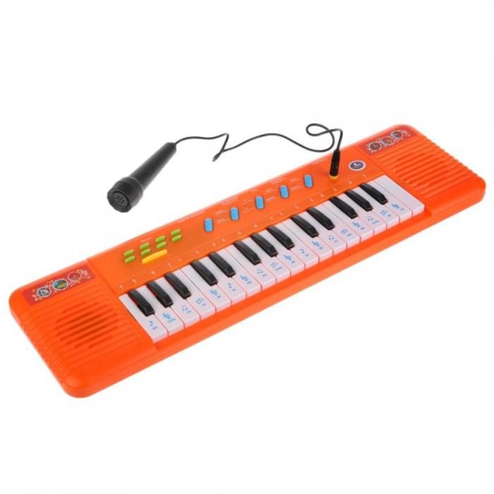 Музыкальный инструмент Умка Электропианино с микрофоном