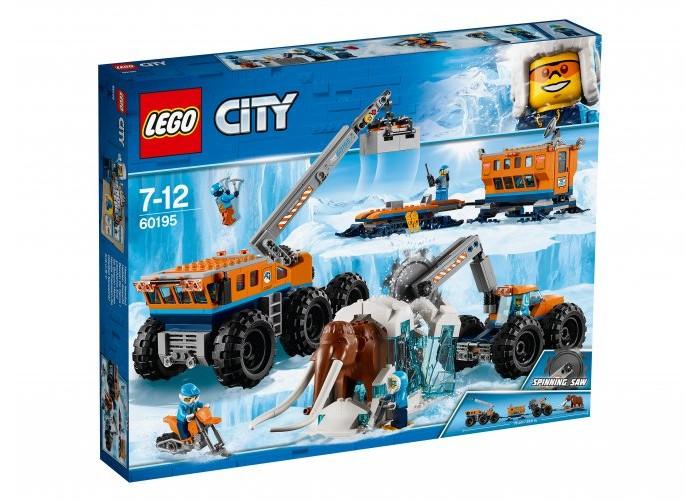 Купить со скидкой Конструктор Lego City Передвижная арктическая база
