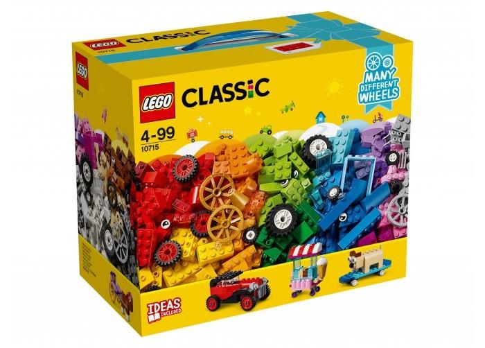 Конструктор Lego Classic Модели на колёсах