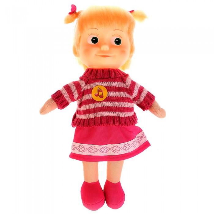 Купить Мягкие игрушки, Мягкая игрушка Мульти-пульти Маша в теплом свитере 29 см
