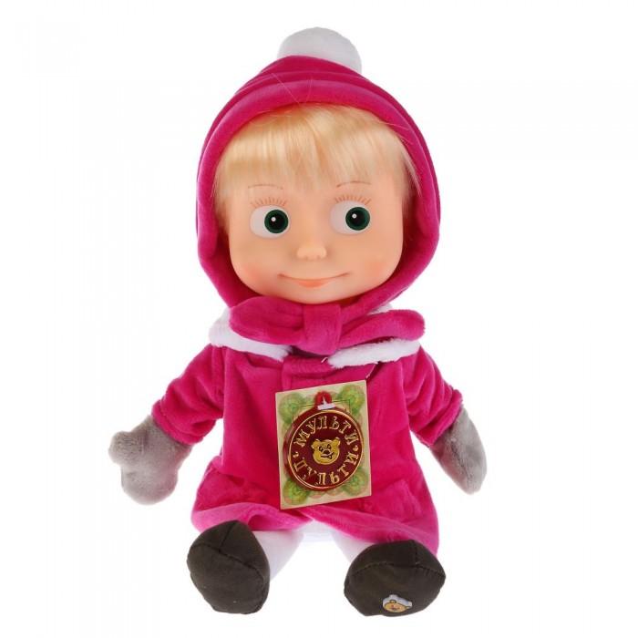 Мягкие игрушки Мульти-пульти Маша в зимней одежде поет и говорит 29 см мягкая игрушка мопс в одежде микс цветов 11 7 см
