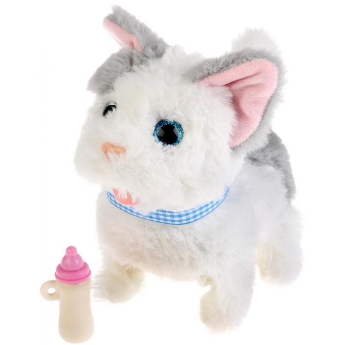 Купить Интерактивные игрушки, Интерактивная игрушка My Friends котенок Джесси с бутылочкой