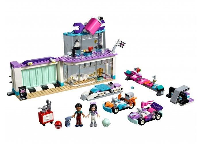 Конструктор Lego Мастерская по тюнингу автомобилей