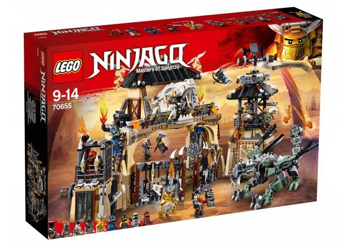 Конструктор Lego Ninjago Пещера драконов