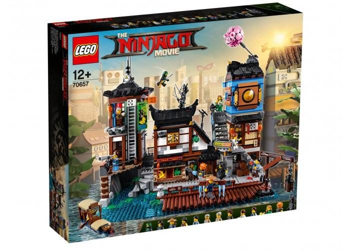 Конструктор Lego Ninjago Порт Ниндзяго Сити