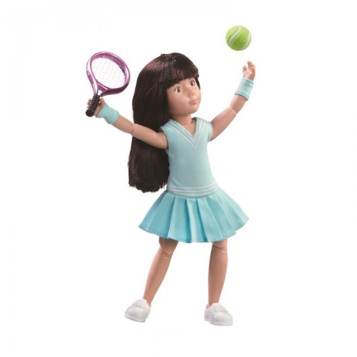 Куклы и одежда для кукол Kruselings Кукла Луна теннисистка 23 см