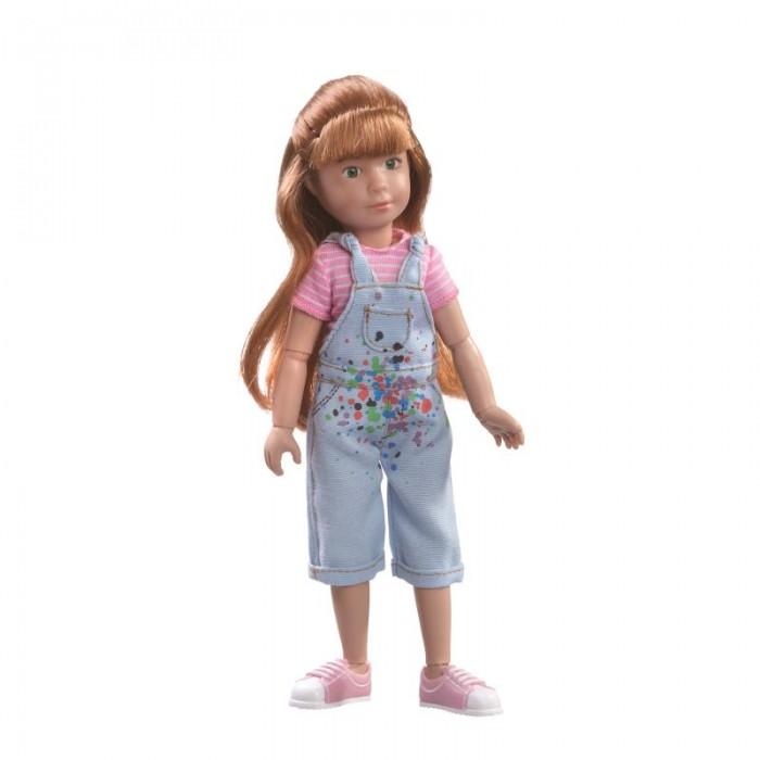 Куклы и одежда для кукол Kruselings Кукла Хлоя художница 23 см