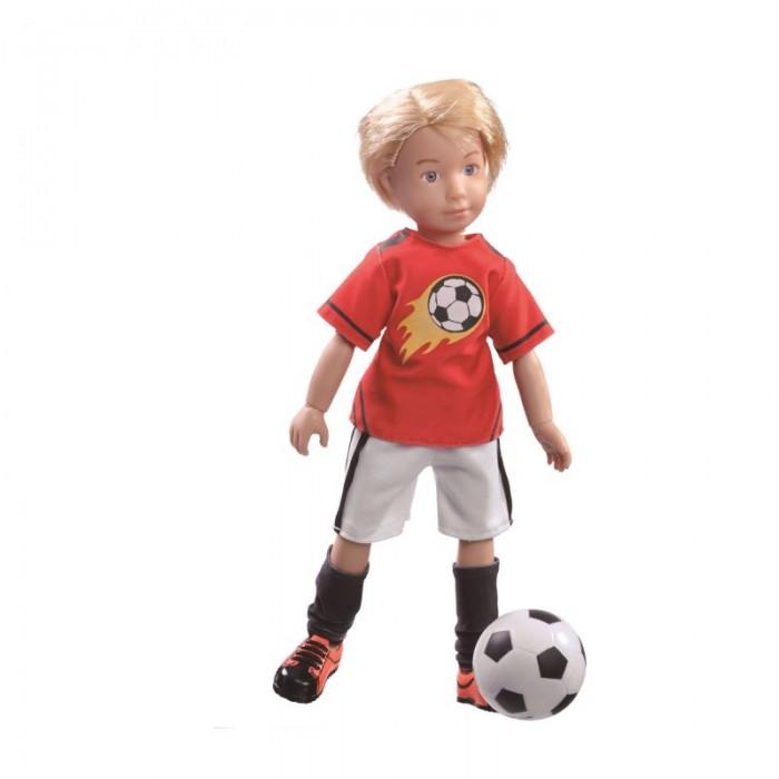 Куклы и одежда для кукол Kruselings Кукла Михаэль футболист 23 см