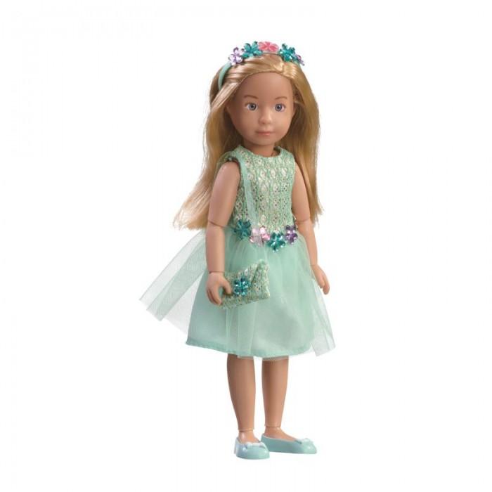 Kruselings  Кукла Вера в нарядном платье для вечеринки 23 см