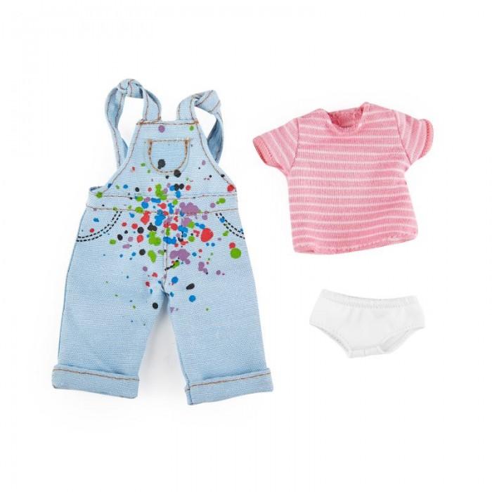 Куклы и одежда для кукол Kruselings Одежда художницы для куклы Хлоя 23 см