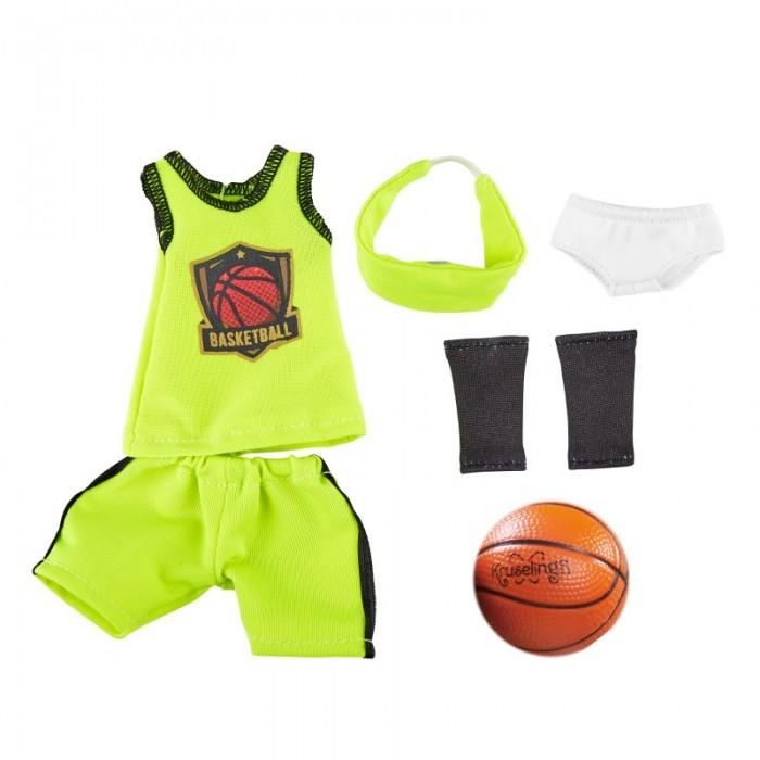 Куклы и одежда для кукол Kruselings Одежда для баскетбола Кукла Джой 32 см