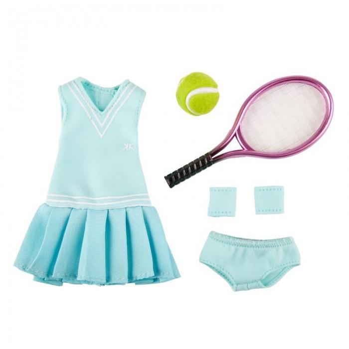 Куклы и одежда для кукол Kruselings Одежда для тенниса Кукла Луна 23 см