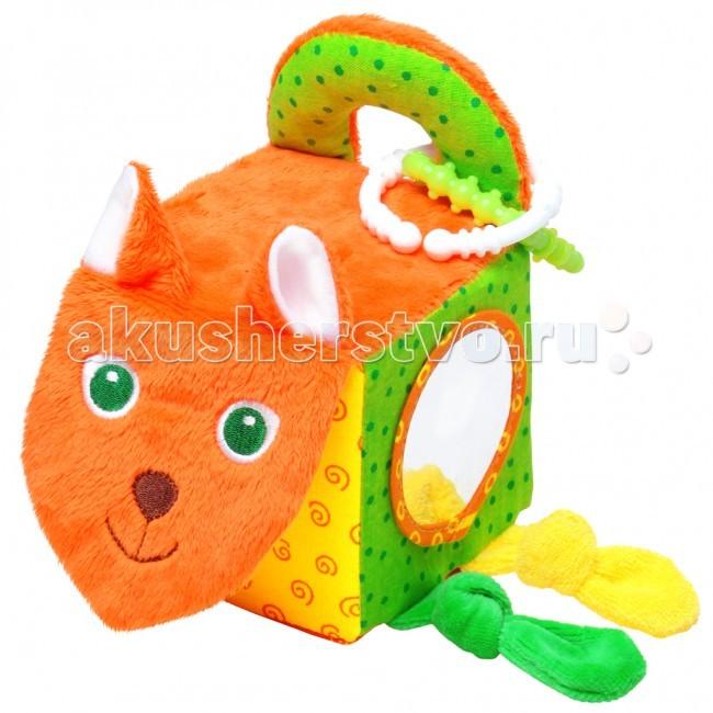 Развивающие игрушки Мякиши Кубик Лиса мякиши кубик лиса