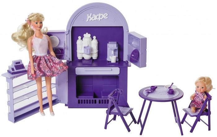 Кукольные домики и мебель Огонек Набор для куклы Кафе-бар кукольные домики и мебель огонек стулья для куклы