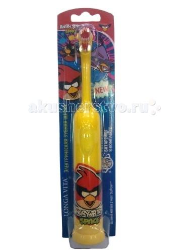 Гигиена полости рта Longa Vita Зубная щётка Angry Birds ротационная недорого
