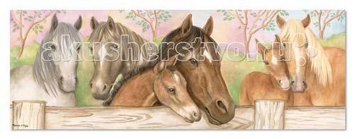 Пазлы Melissa & Doug Напольный Пазл Лошади лошади 2284
