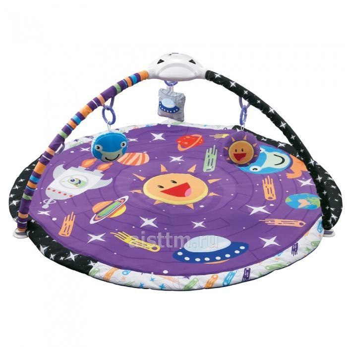 Купить Развивающие коврики, Развивающий коврик Konig Kids Космос с проектором