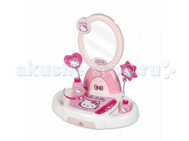 Ролевые игры Smoby Туалетный столик Hello Kitty пластиковая мебель smoby столик для пикника cars